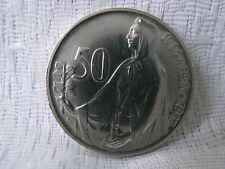 SILBERMÜNZE 50 KORUN 1947 REPUBLIKA CESKOSLOVENSKA