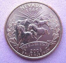 """US   B/UNC    USA     STATE QUARTER    2006   """"NEVADA""""     Mint D"""