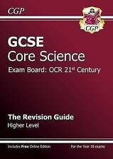 GCSE Core Science OCR 21st Century Revision Guide - Higher (with Online Edition…