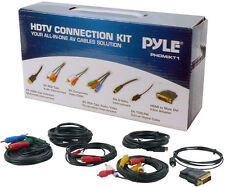 Pyle PHDMIKT1 HDTV Audio/Video Cable Kit Compatible w/ Plasma LCD/LED/DLP/DVD