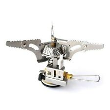 Mini Backpacking Outdoor Gas Butane Propane Canister Camp Stove Burner