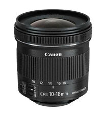 Canon EF-S 10-18mm f/4.5-5.6 IS STM Ultra Wide Angle Zoom Lens