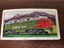 Trains of the World: Barratt Card no. 43, Southern Pacific R.R. 4000 h.p. Diesel