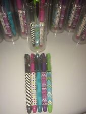 Colorful 5 Pk Assorted Cool Ink Pens Designs Office Depot stockinh stuffers gift