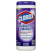 Clorox Disinfecting Wipes, Fresh Lavender 35 ea (Pack of 2)