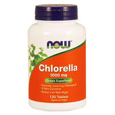 Chlorella 120 Tabs 1000 mg by Now Foods