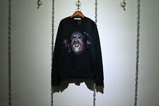 Givenchy Black Embroidery Rottweiler Sweater  Size S