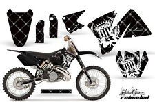 KTM C3 EXC MXC Graphics Kit AMR Racing Bike Decal Sticker Part 01-02 RELOADED BW