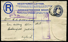 ORANGE RIVER COLONY: (10321) BETHLEHEM cancel/PSRE