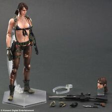 "Metal Gear Solid V: The Phantom Pain-Play Arts Kai Quiet 10"" PVC Action Figure"
