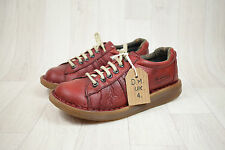 Ladies Dr Martens Doc Martens DM Red Leather Shoes Size UK 4