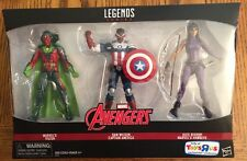 Marvel Legends TRU Exclusive 3 Pack! New Vision, Sam Wilson, Kate Bishop Figures