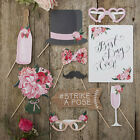 Wedding Photo Booth Props for Boho Rustic Wedding or Hen Party Photobooth