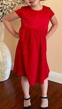 Baby Gap Girl's Rosette Embroidered Jersey Dress Size 4T Years  $44.95
