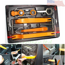 Universal Pry Removal Open Tools Kit Car Dash Door Trim Panel Clip Radio/Lights