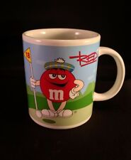 Galerie BLUE M&M'S Football and RED Golf M&M'S Basketball Stoneware Coffee Mug