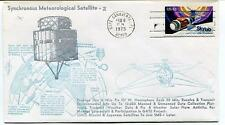 1975 Synchronous Meteorological Satellite-2 Russian Japanese Cape Canaveral SAT