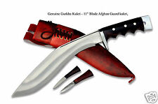 "Genuine Gurkha Kukri - 11"" Blade Afghan Guard kukri, khukuri,gurkha knives,GK"