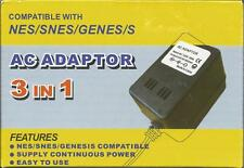 Power Adapter NES SNES Sega Genesis Universal Power Brand New 1Z