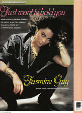 Just Want To Hold You - Jasmine Guy - 1989 Sheet Music