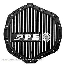 PPE ALUMINUM REAR END COVER 2001-16 CHEVY GMC HD 2500 3500 - BLACK / BRUSHED