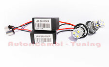 PAR DE LÁMPARAS BOMBILLAS BA15S 9 LED 5050 SMD 6000K + RESISTENCIAS CAN-BUS
