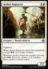 MTG 4x AETHER INSPECTOR - ISPETTORE DELL'ETERE - AER - MAGIC