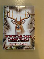 Whitetail Deer Playing Cards Camouflage 54 New Realtree Game Stocking Stuffer