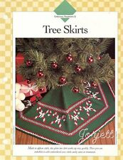 Christmas Tree Skirts in Tunisian crochet & Baby's Afghan patterns