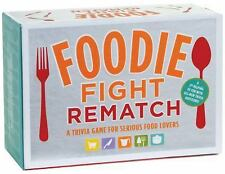 Foodie Fight Rematch : A Trivia Game for Serious Food Lovers by Joyce Lock...