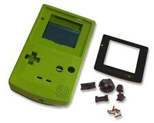 Game Boy Gameboy Color GBC Verde Lima Shell Estuche de CARCASA W Pantalla y Herramientas UK