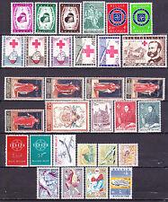 1959** Volledige jaargang:31 zegels postfris zonder scharnier.OBP 63,5 euro.