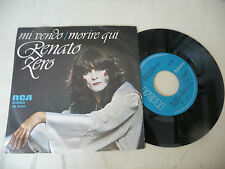 "RENATO ZERO"" MI VENDO- disco 45 giri RCA It 1977"""