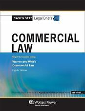 Casenotes Legal Briefs: Commercial Law, Keyed to Warren & Walt, 8th Edition Cas