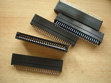 CARD bordo del connettore 48pin (2 x 24) DOPPIA FILA dimensioni 77 x 15 x 9 APX 5pcs £ 5.00
