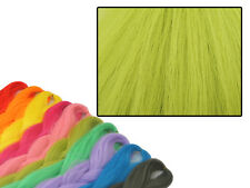 Cyberloxshop PHANTASIA Kanekalon JUMBO BRAID Light Verde Oliva Capelli punta