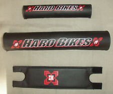 HARO BMX PAD SET NECK, HANDLE BAR TOP TUBE BRAND NEW OLD STOCK    LAST OF THEM