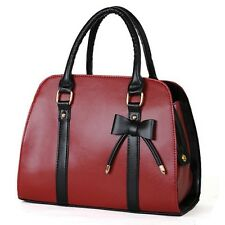 New Women's  Messenger Shoulder Bag Fashion Bow-knot Handbags Purse Totes Gift