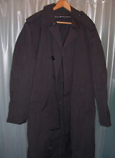 Mens US Army Dress Uniform All weather Water Repellent Trench Coat w/ Liner 40R