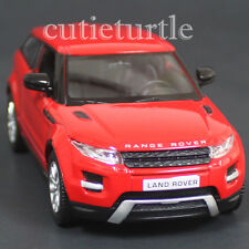 "RMZ City 5"" Land Rover Range Rover Evoque SUV Diecast Toy Car 1:36 Red"