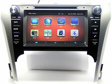 """8"""" Touch Screen Car Radio DVD Player GPS Navigation For Toyota Camry +NEW 3D Map"""