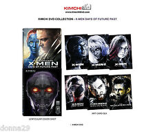 X-Men:Days Of Future Past 3D+2D Blu-Ray Kimchi Collection#1 Lenticular Steelbook