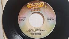 JUAN RAMOS y LOS PRINCIPES - Elvis Presley: El Rey Del Rock n Roll 1977 TEJANO