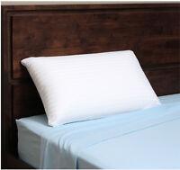 Talatech Latex Pillow Authentic 230 Thread Count Foam Firm Density Queen Neck