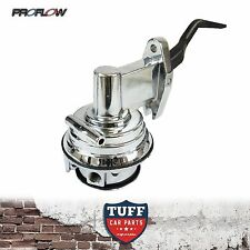 Proflow Ford Cleveland 302 351 V8 Chrome Mechanical 100GPH Carby Fuel Pump Clevo