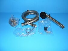 *DURA FAUCET SATIN NICKLE RV SHOWER HEAD AND HOSE