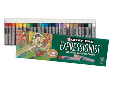 Sakura Cray-Pas Expressionist Extra Fine Quality Oil Pastels Set of 25