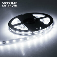 DC 12V 5M 300Leds 5630 SMD Bright Flexible Led Strip Lights Lamp Warm/Cool White