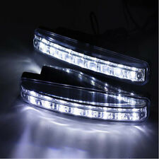 8 LED  DC 12V Car Waterproof  Daytime Driving Running Light DRL Fog Lamp Light