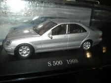 1:43 Ixo Mercedes-Benz S 500 W220 1998-2005 silber/silver VP